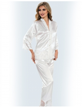Satin Long PJ
